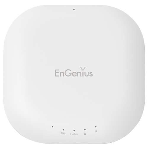 EnGenius N600 Neutron Series Dual Band Wireless Managed Indoor Access Point - IEEE 802.11a/b/g/n, 300Mbps, Up to 29 dBm RF Power, Dynamic Channel, MIMO Antenna, 64MB Memory, ISM/UNII Band - EWS310AP