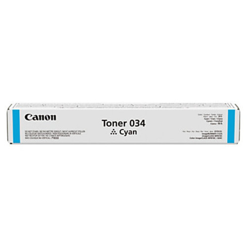 Canon pQ CNMCRTDG034C (9453B001AA) Cyan Toner Cartridge