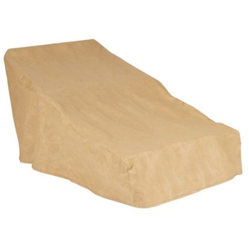 Budge All-Seasons Double Patio Chaise Lounge Cover,