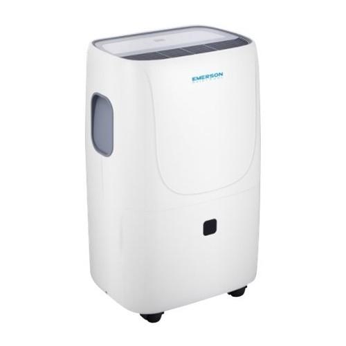 Emerson Quiet Kool - 50.1-Pint Portable Dehumidifier - White