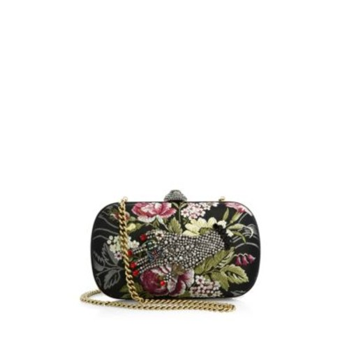 GUCCI Broadway Embroidered Clutch