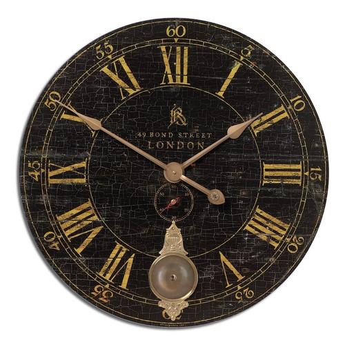 Uttermost Bond Street Wall Clock, 30