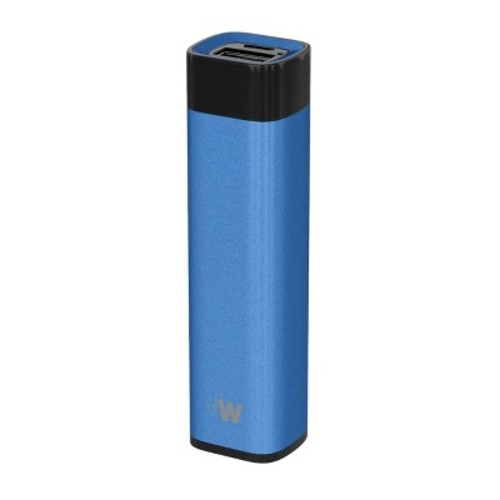 Portable Power Bank 2600 mAh Blue - Just Wireless