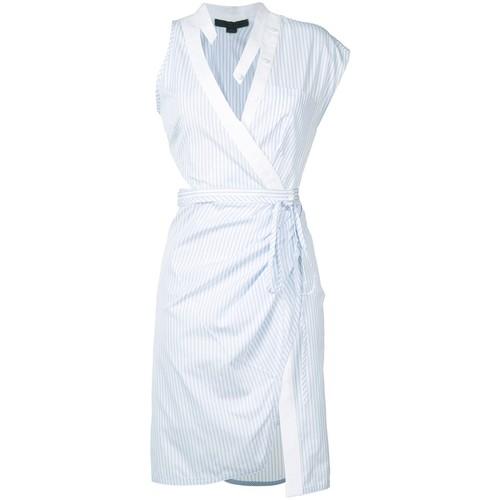 ALEXANDER WANG Deconstructed Wrap Dress