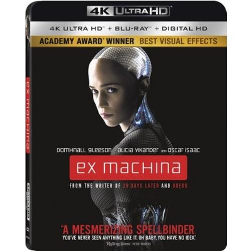 Ex Machina [4K UHD] [Blu-Ray] [Digital HD]
