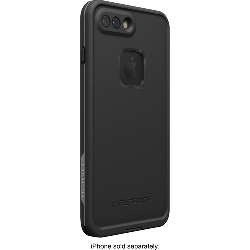 LifeProof - Fr Protective Waterproof Case for Apple iPhone 7 Plus - Asphalt black