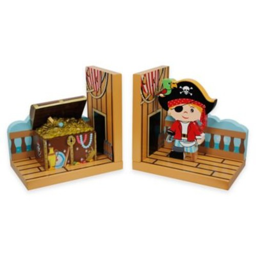Teamson Fantasy Fields Pirate Island Bookends Set