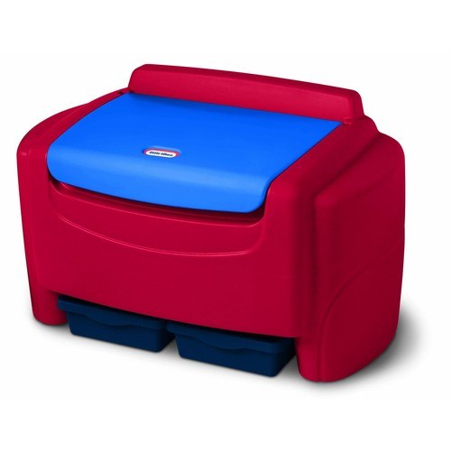 Little Tikes 606540 Sort 'n Store Toy Chest in Primary Colors