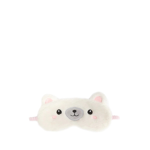 Polar Bear Plush Sleep Mask