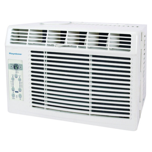 Keystone KSTAW05B 5,000 BTU 115V Window-Mounted Air Conditioner with