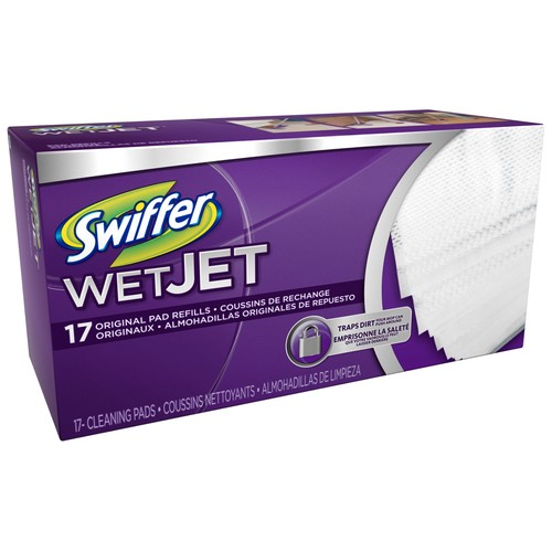Swiffer Pad Refill, Wet Jet, 17 ct