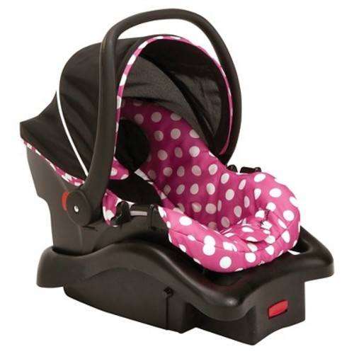 Disney Cosco Light 'N Comfy Luxe Infant Car Seat in Minnie Dot