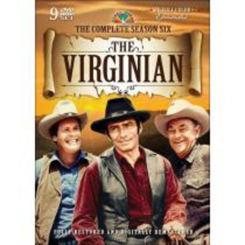 The Virginian: The Complete Season Six [9 Discs] [DVD]
