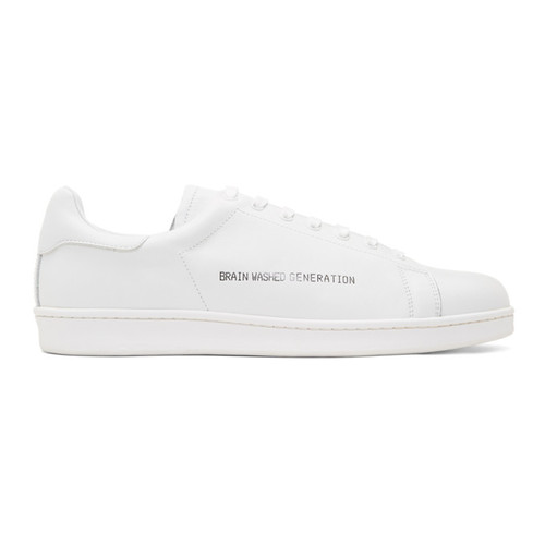 White 'Brain Washed Generation' Sneakers