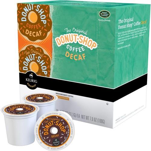 The Original Donut Shop Decaf Coffee, Keurig K-Cup Pods, 18 Count
