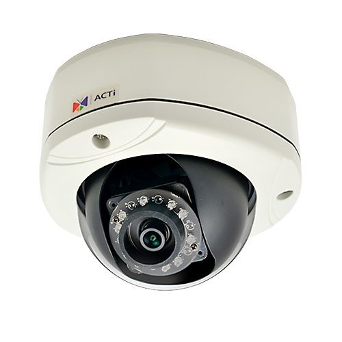 ACTI 2MP Dome Camera - Outdoor, 30fps, Night Vision, Adaptive IR LED - E76