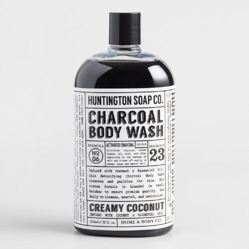Huntington Coconut Charcoal Body Wash
