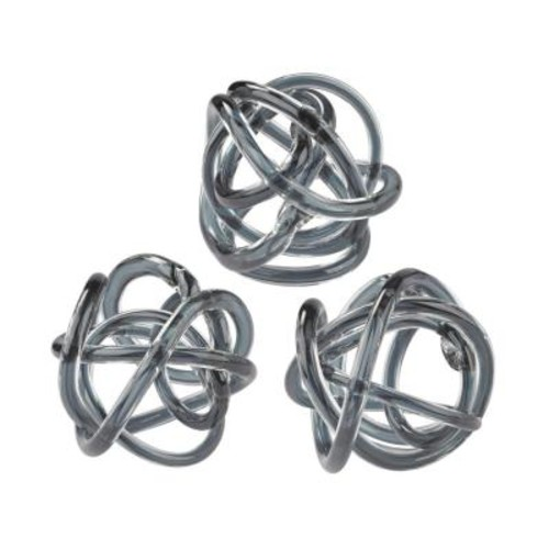 Dimond Home Grey Glass Knot