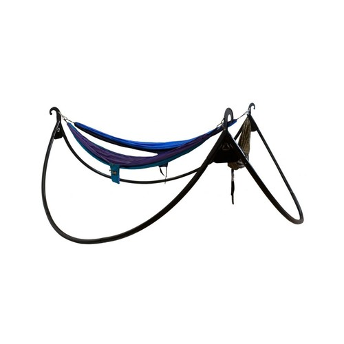 Eagle's Nest Outfitters ENOpod Triple Hammock Stand ENO-POD-039, Color: Black, Product Weight: 101 lb, Application: Camping,