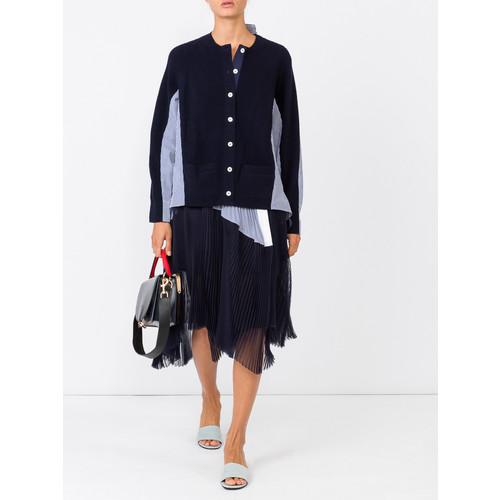 SACAI Asymmetric Shirting Skirt