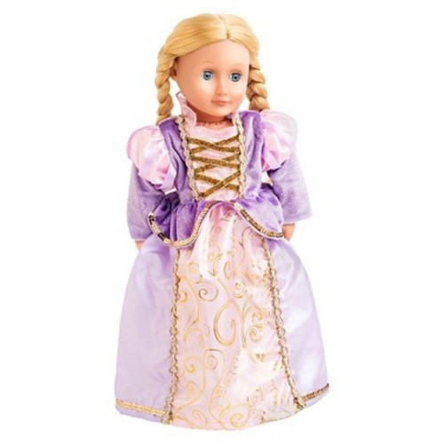 Little Adventures Doll Dress Classic Rapunzel