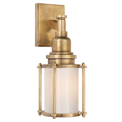 Stanway Sconce, Antiqued Brass