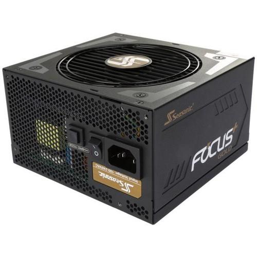 Seasonic FOCUS Plus Series SSR-850FX 850W 80+ Gold ATX12V & EPS12V Full Modular 120mm FDB Fan Compact 140 mm Size Power Supply