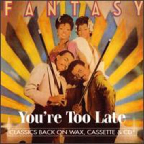 You're Too Late [CD]