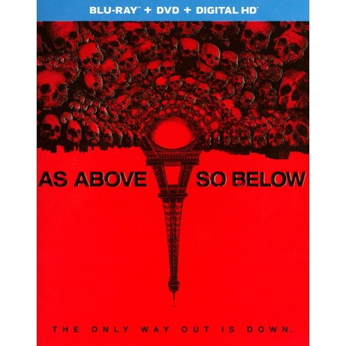 As Above, So Below [2 Discs] [Includes Digital Copy] [UltraViolet] [Blu-ray/DVD] [2014]