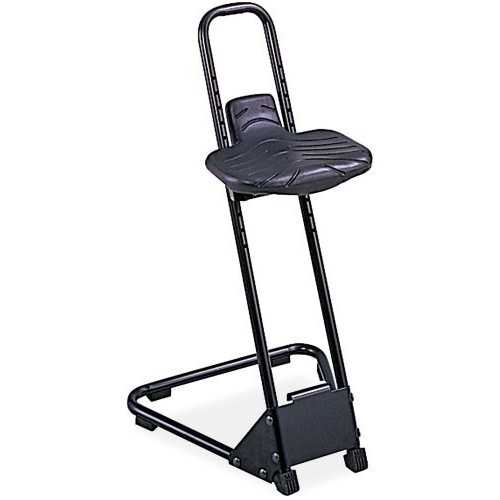 Safco Products 5126 Stand Alone Stool, Black [Stand Alone Stool]
