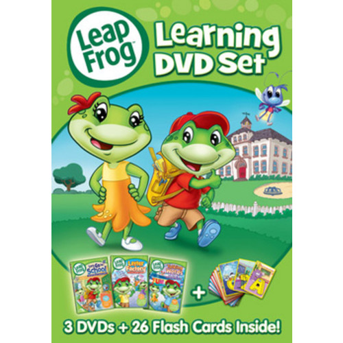 LeapFrog: Learning DVD Set [3 Discs] [DVD]