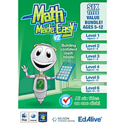 Math Made Easy v2 Bundle, Download Version