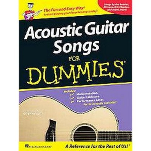 Acoustic Guitar Songs for Dummies (Paperback)
