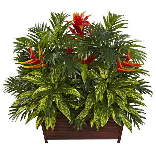 nearly natural Tropical Garden Arrangement