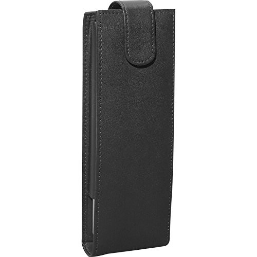 Royce Leather Men's Cigar And Flask Set [Black, One Size]