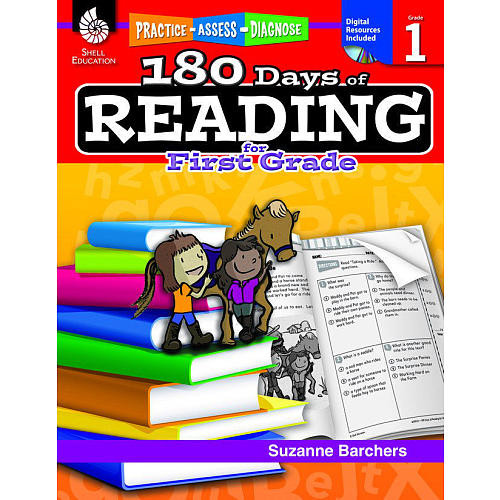 180 Days of Reading for First Grade Book