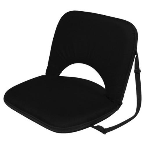 Trademark Innovation Portable Recliner Seat Multi Use - Black
