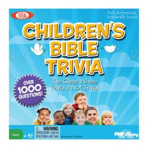 IDEAL Children's Bible Trivia Board Game