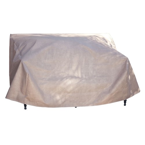 Duck Covers Elite 54-in. Patio Loveseat Cover and Inflatable Airbag