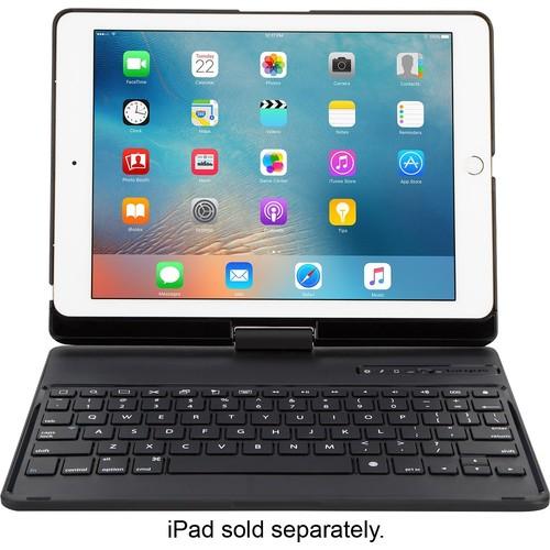 Targus - VersaType 4-in-1 Power Bank Keyboard Case for Apple iPad, 9.7-inch iPad Pro, iPad Air 2 and Air - Black