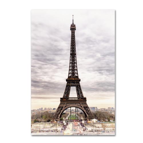 Trademark Global Philippe Hugonnard 'The Eiffel Tower' Canvas Art