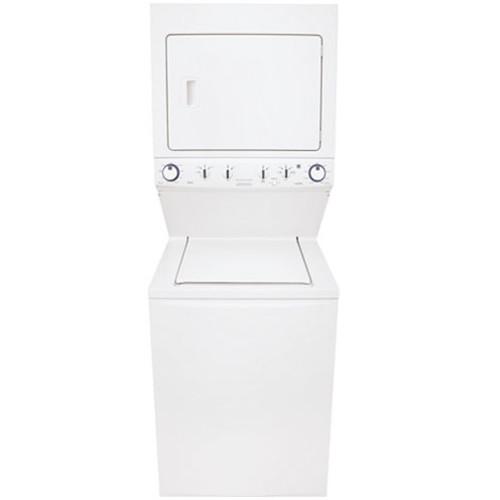 Frigidaire FFLG4033QT Unitized 3.8 Cu. Ft. Washer and 5.5 Cu. Ft Gas High Efficiency Dryer
