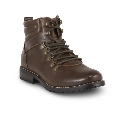 SM New York Men's Graham Brown Hiking Boot [Width : Medium]