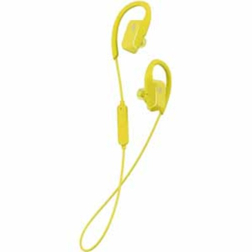 JVC Sport Bluetooth Ear Clip Headphones - Yellow