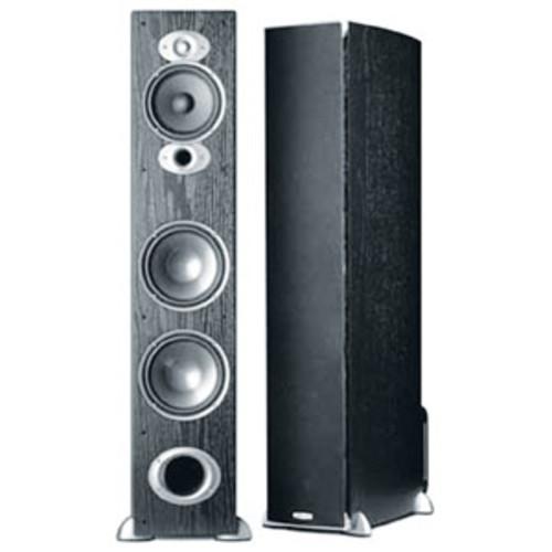 Polk Audio Floorstanding Speaker - Black - Single