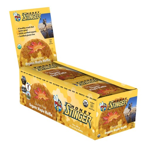 Honey Stinger Gluten Free Organic Waffle 16 pack [Flavor : Salted Caramel]