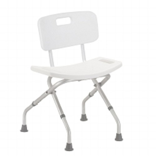 Drive Medical Folding Bath Bench with Back