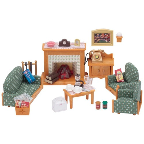 Calico Critters Deluxe Living Room Set [Living Room Set]