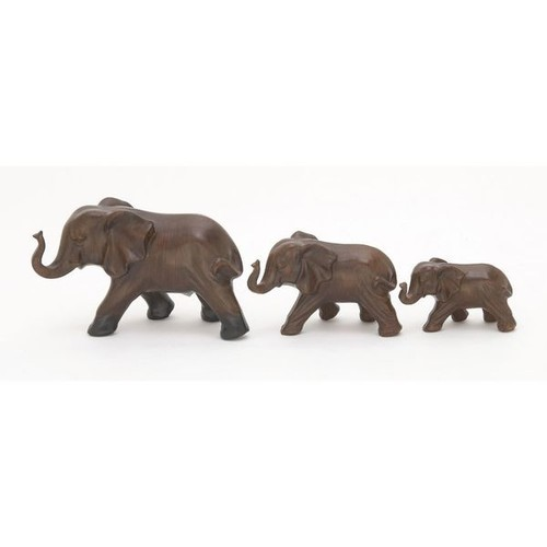 Endearing Ceramic Elephant (Set Of 3) - Ceramic