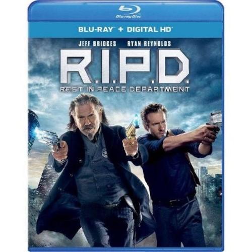 R.I.P.D. [Includes Digital Copy] [UltraViolet] [Blu-ray] COLOR/WSE DD2/DHMA/DTS